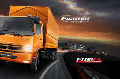 Diskon Fuso FN 61 FL HD Wing Box Tahun 2020 2021 2022 2023 2024 2025