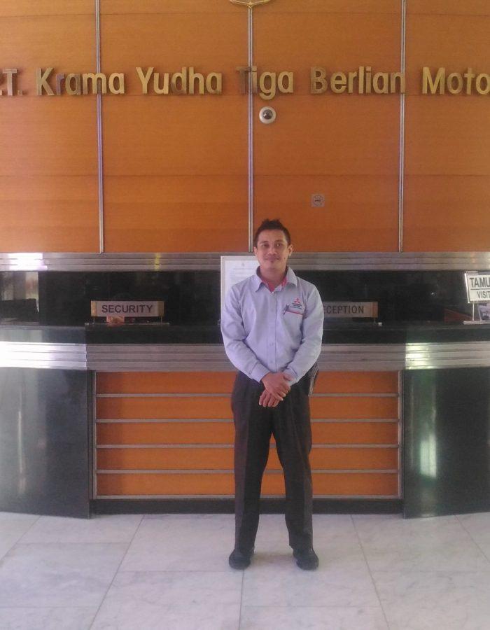 Handri Sales Mitsubishi Training KTB dan MMKSI