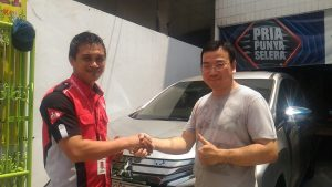 Handri Sales Mitsubishi Xpander Ultimate Pak Daniel PT. Yamaha Pulo Gadung Jakarta Timur