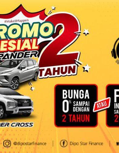 Promo Kredit Bunga Murah 0 Mitsubishi Xpander Dari Leasing Dipo Star Finance